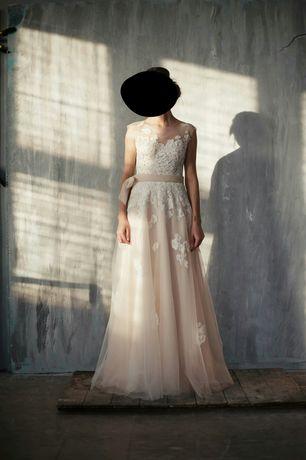 Suknia ślubna od Justyny Kodym rustykalna boho