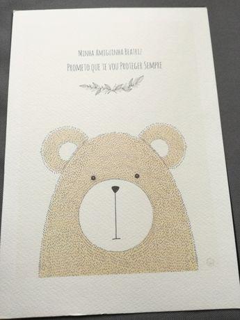 Ilustração para quarto de bebé
