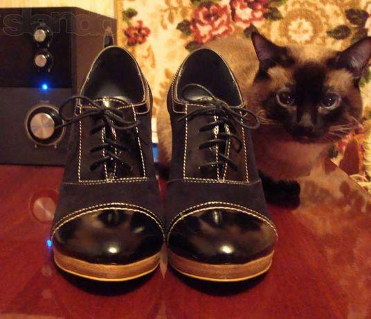 Эффектные ботинки