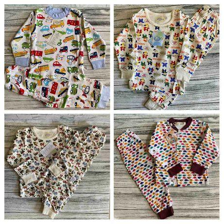 Детские пижамы для мальчиков и девочек на рост от 80 до 110