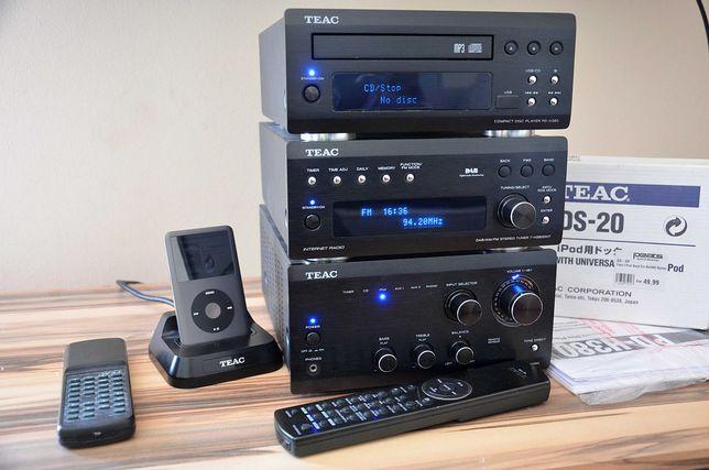 WIEŻA TEAC A-H380 + T-H380NT + PD-H380 + DS-20 +  IPOD 160GB