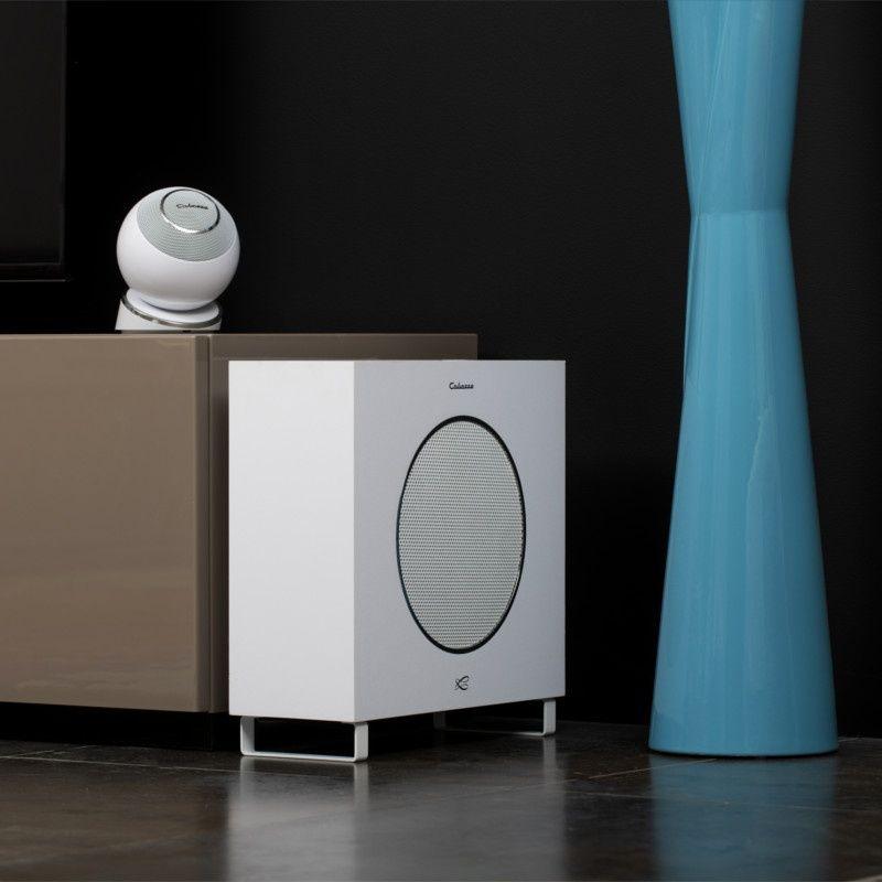 Cabasse Lipari 21 biały lub czarny subwoofer aktywny Trans Audio Hi-Fi