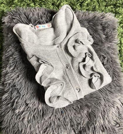 Sweter szary dziecięcy