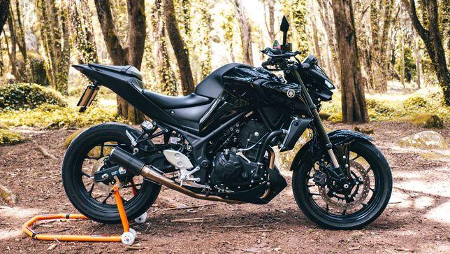 Yamaha MT-03 2020 (Full Extras)