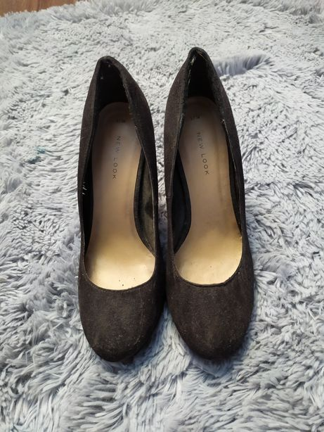 Czarne szpilki New Look rozmiar 38