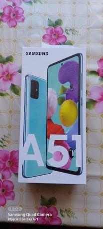 Nowy telefon Samsung Galaxy A51 Niebieski.