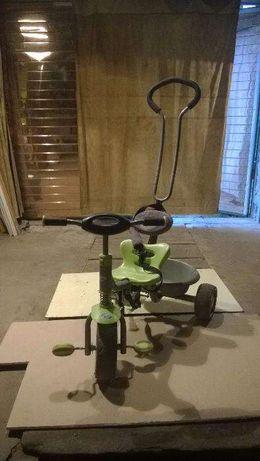 продам велосипед детский трехколесный с ручкой