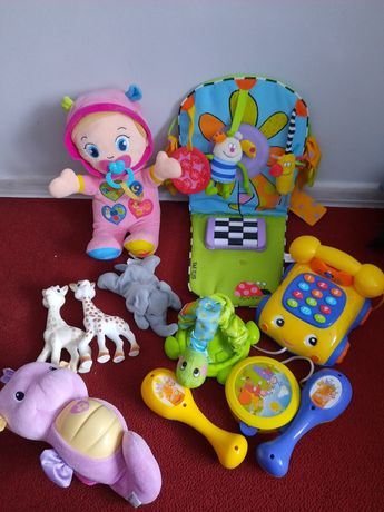Детские развивающие игрушки погремушки книжки коврик
