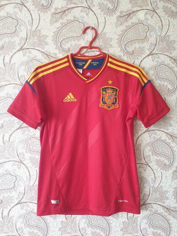 Детская футбольная футболка (форма) сборной Испании, Adidas ОРИГИНАЛ