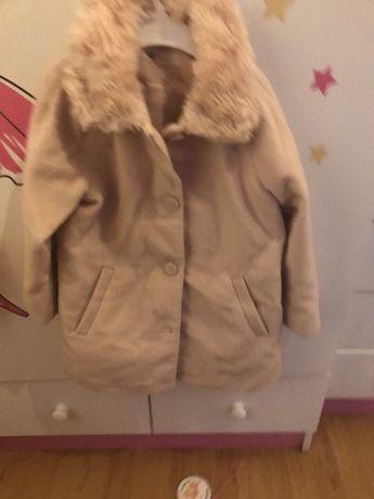 H&m płaszcz płaszczyk różowy 116