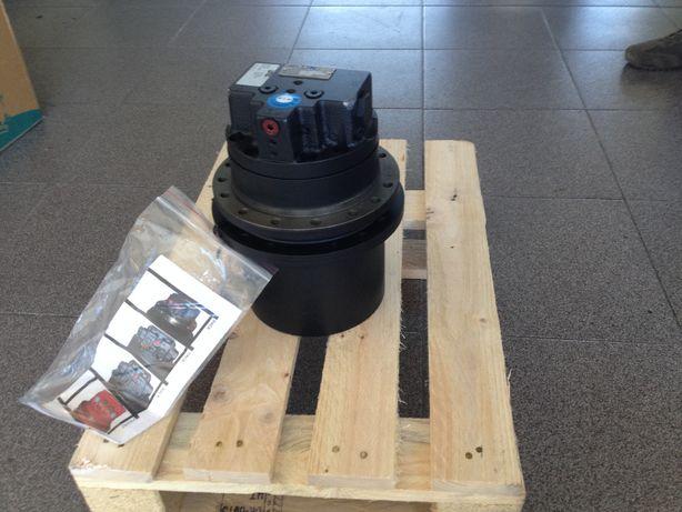Redutoras, bombas hidraulicas e motores de giro para mini giratórias