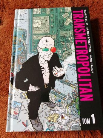 """Komiks """"Transmetropolitan t.1"""" Warren Ellis"""
