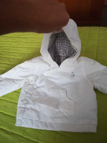 Kispo Zara branco 6 a 9 meses