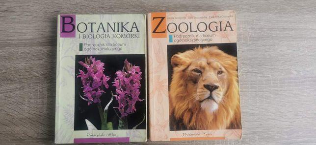 Książki botanika i biologia komórki, zoologia