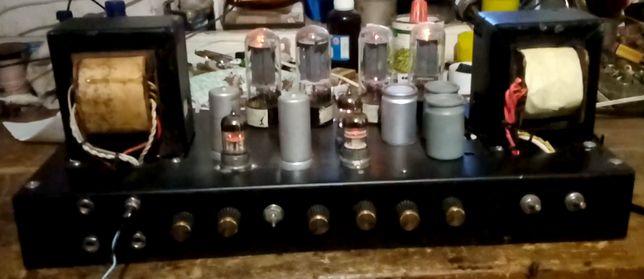 Усилитель Ламповый на 4Х 6П3С + Видео