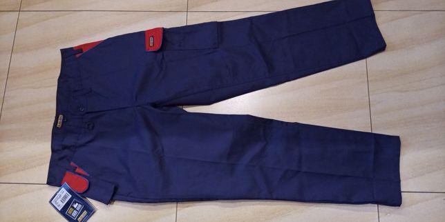 Spodnie męskie do pracy pas 98 cm nowe
