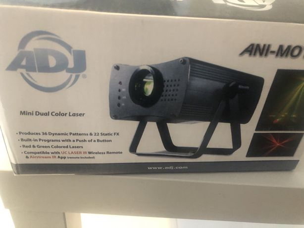 Laser ADJ ani-motion