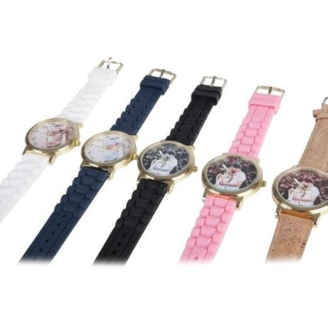 Relógios de pulso personalizáveis - oferta dos Portes de envio!
