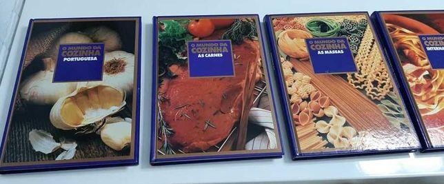 8 Livros da Ediclube - O mundo da cozinha