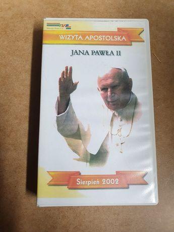 """Kaseta VHS """"Wizyta Apostolska Jana Pawła II"""""""