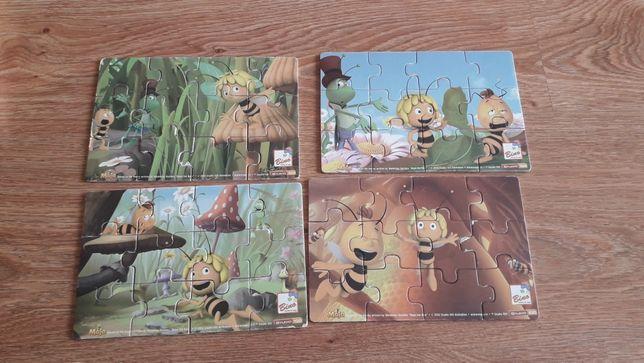 Sprzedam puzzle drewniane Pszczółka Maja