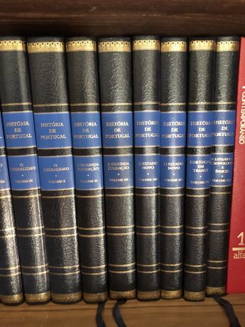 A História de Portugal em 16 volumes - novos