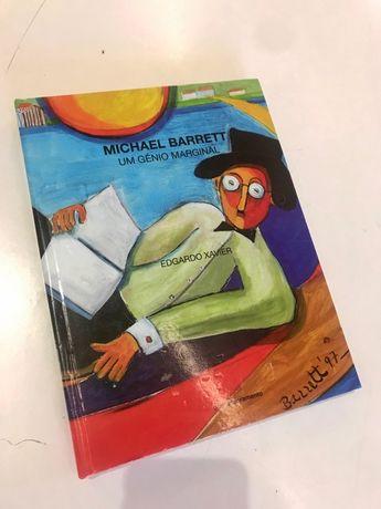Livro de Arte do artista Michael Barrett