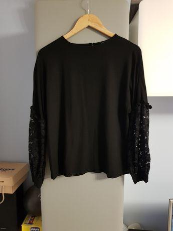 Czarna bluzka LC Waikiki