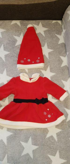 Sukienka Mikołajka 62 cm Belsk Duży - image 1