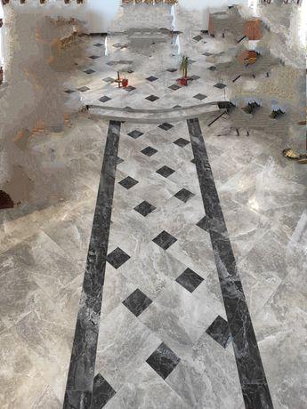 Вкладання плитки,укладка плитки,якісне лицювання плиткою