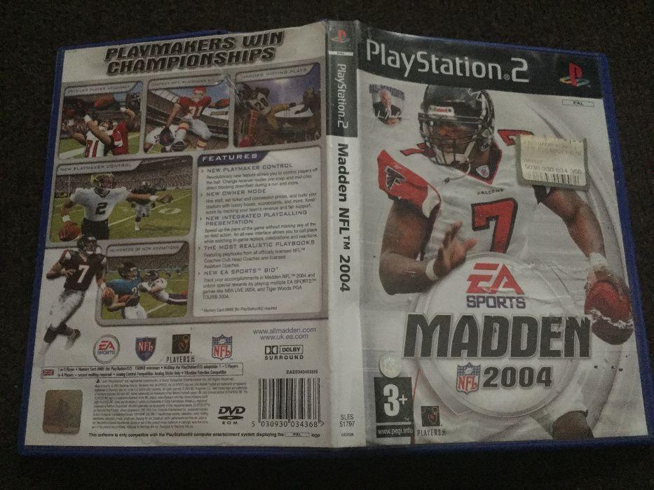Sprzedam grę na konsolę PS2: Madden NFL 2004 Ostrów Wielkopolski - image 1