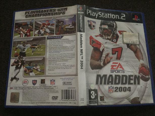 Sprzedam grę na konsolę PS2: Madden NFL 2004