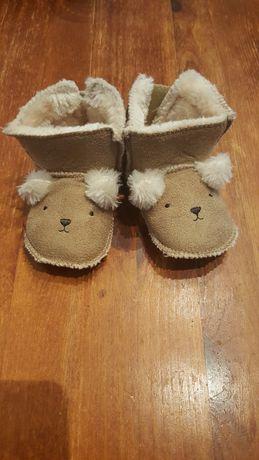 Nowe buty botki niechodki H&M dla niemowlaka
