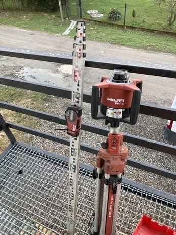 Laser niwelator laserowy obrotowy hilti bosch stanley