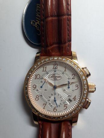 Наручные механические часы хронограф Buran