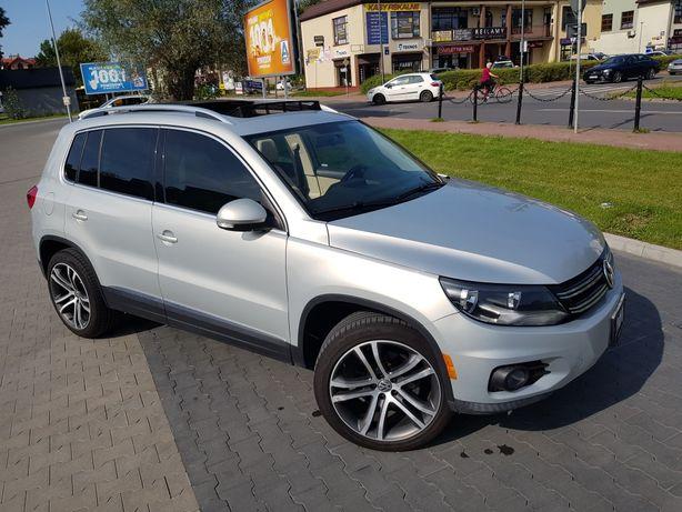 "VW Tiguan 2.0 TSi 200KM automat, jasna skóra, panorama, felga 19"""