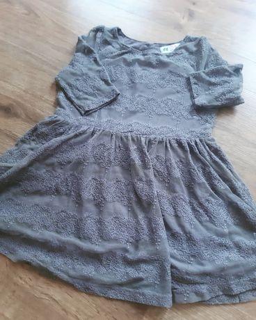 Sukienka dla dziewczynki z HM