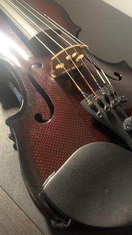 Violino electrico acustico 5 cordas carbono
