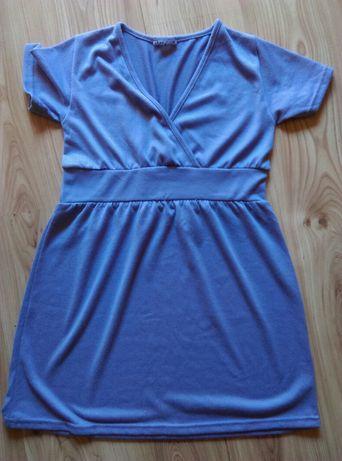 Sukienka krótki rękaw, ciążowa sukienka