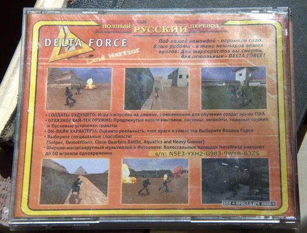 Delta Force комп. игра диск