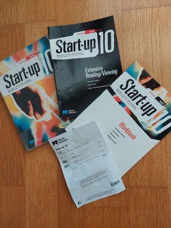 Manual de inglês Start-up 10 ano + workbook + extensive reading