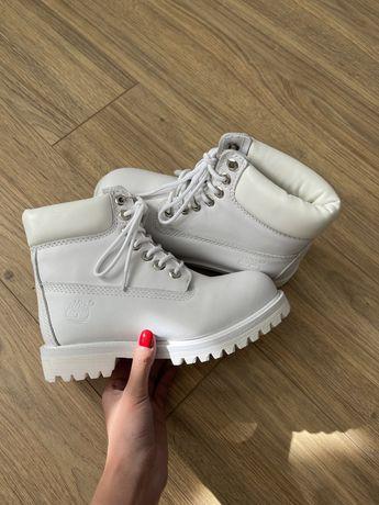 Ботинки Timberland white boots original. Тимберленды оригинал