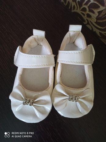 Туфлі пінеткі для дівчинки