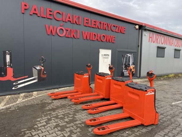 Paleciak elektryczny wózek Linde T 16 T 18 1600 kg 1800 kg Okazja