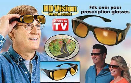 Osłona przeciwsłoneczna Clear View na dzień/noc!w formie okularów NEW!