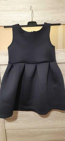 sukienka piankowa 110/116