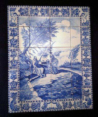 Painel Azulejos Nelson Cruz