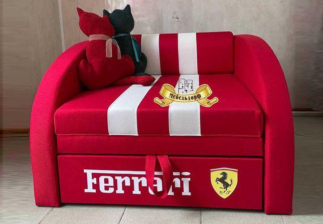 Детский диван кресло-кровать Smart с принтом и без Наличие Днепр Акция