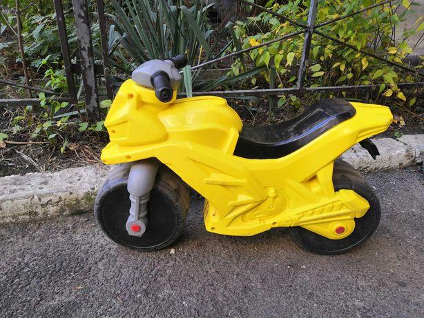 Детский мотоцикл толокар ORION, Орион, Технок, Фламинго