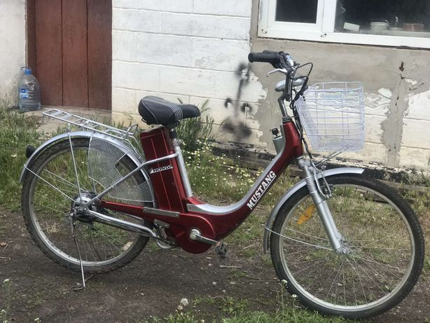 Продам электро-велосыпед в хорошем состоянии,новый акамулятор,резина